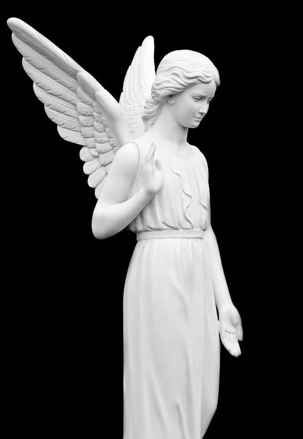 Standbeeld van een Engel stock fotografie