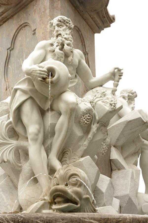 Standbeeld van fontein Robba royalty-vrije stock afbeelding