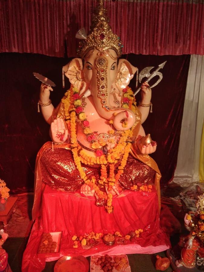 Standbeeld van Ganesha royalty-vrije stock afbeelding