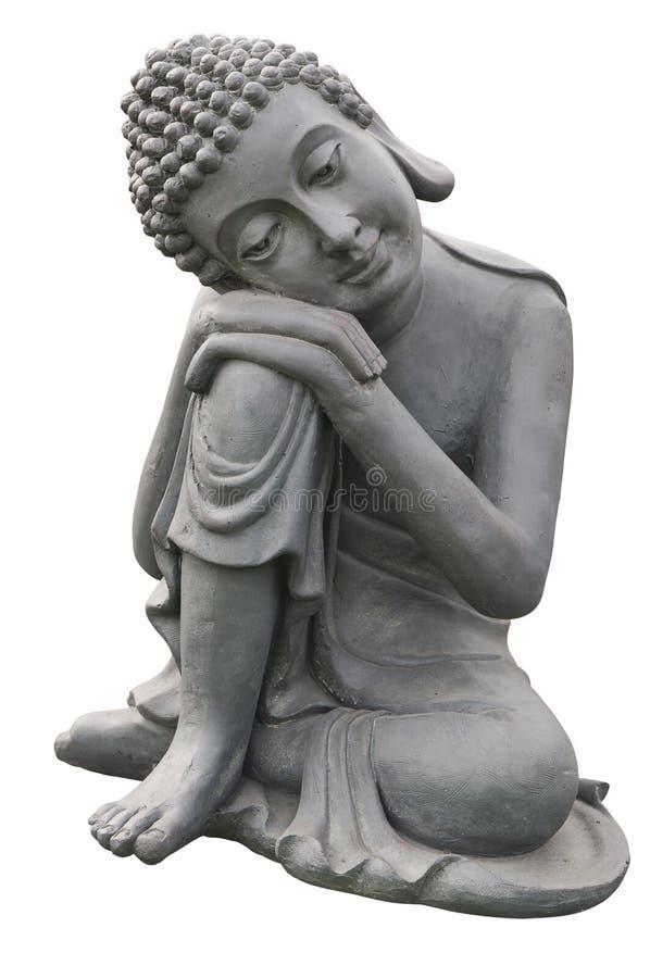 Standbeeld van Gautama Boedha royalty-vrije stock foto's