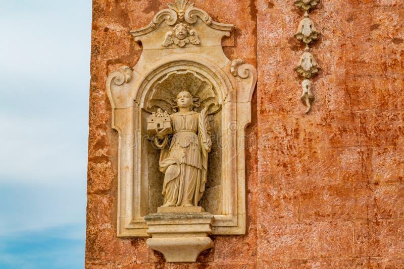 Standbeeld van Heilige Vitus royalty-vrije stock afbeelding