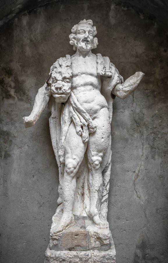 Standbeeld van Hercules royalty-vrije stock foto's