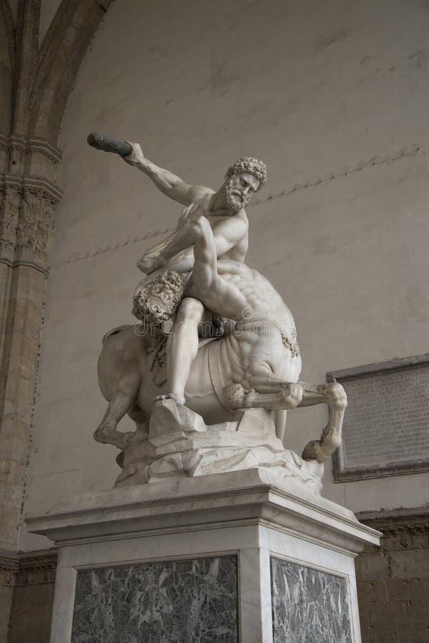 Standbeeld van Hercules royalty-vrije stock fotografie