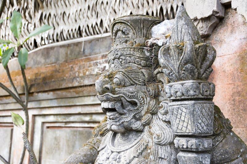 Standbeeld van Hindoes God of demon Ubud, Bali, Indonesië royalty-vrije stock afbeelding