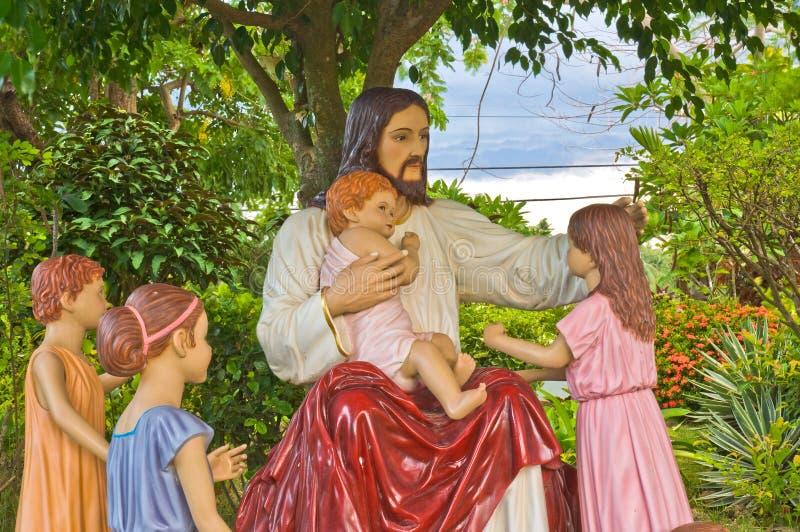 Standbeeld van Jesus-Christus royalty-vrije stock foto
