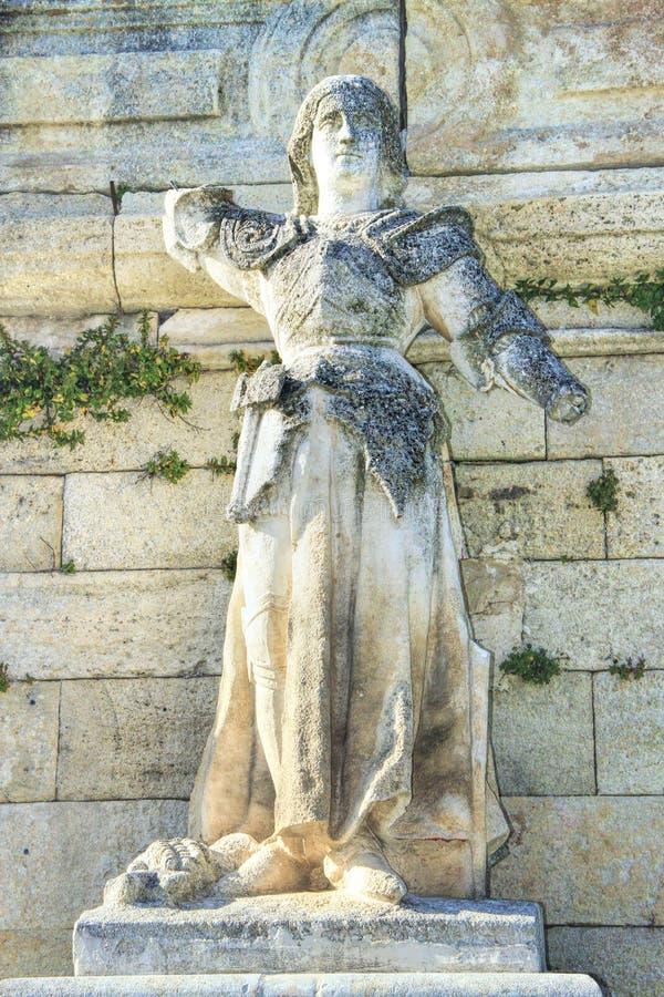 Standbeeld van Joan van Boog in Avignon, Frankrijk stock afbeelding