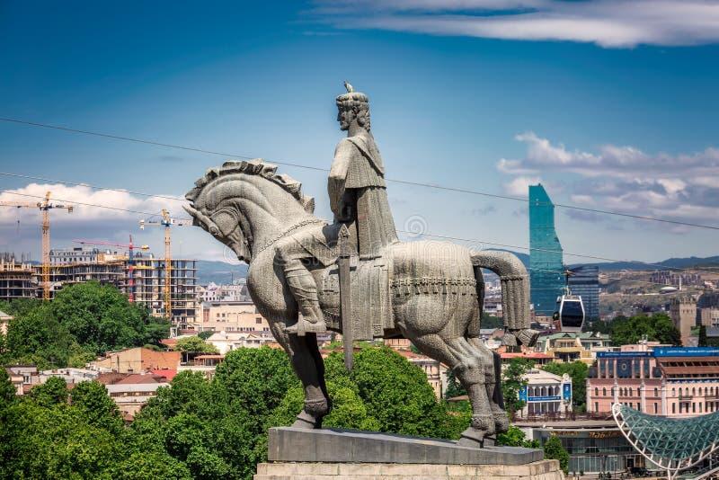 Standbeeld van Koning stock foto