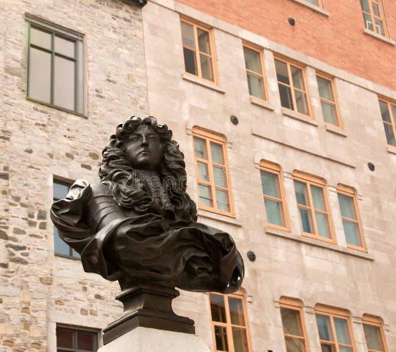 Standbeeld van Koning Louis XIV stock foto