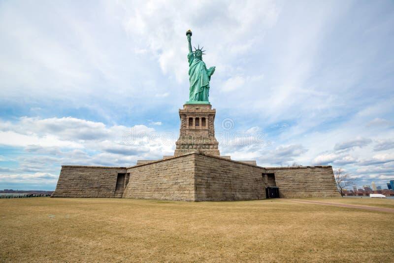 Standbeeld van Liberty New York City royalty-vrije stock fotografie
