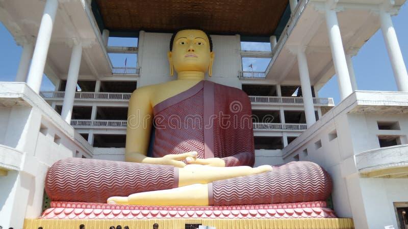 Standbeeld van Lord Buddha royalty-vrije stock foto