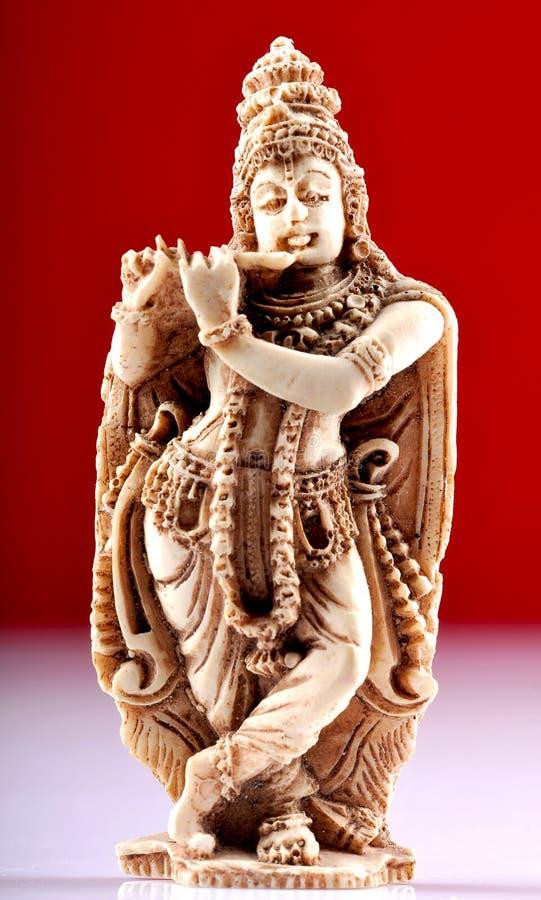Standbeeld van Lord Krishna stock foto's