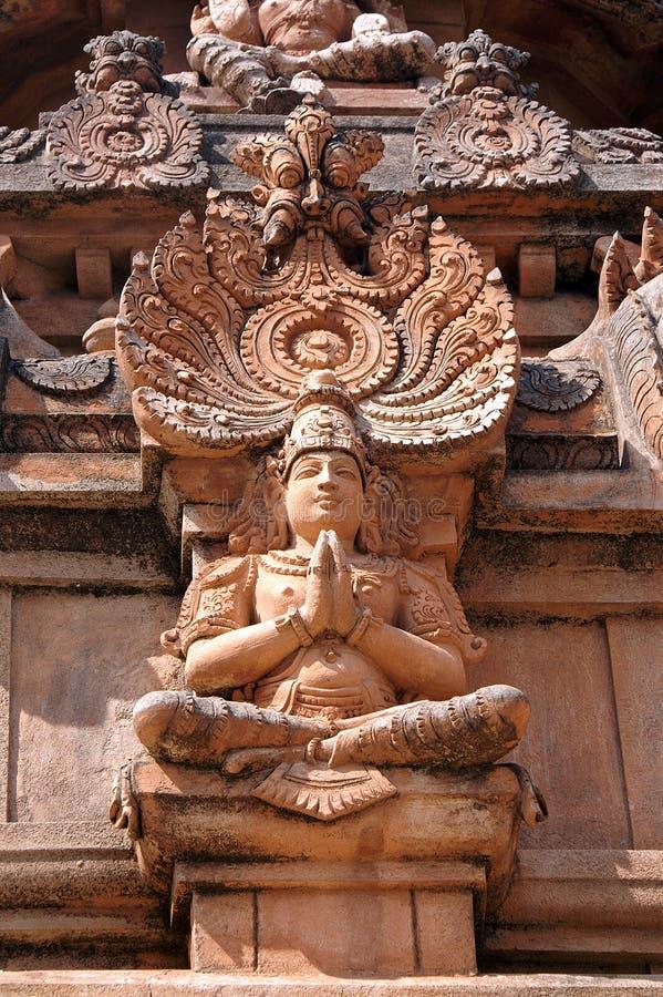Standbeeld van Lord Krishna royalty-vrije stock afbeeldingen