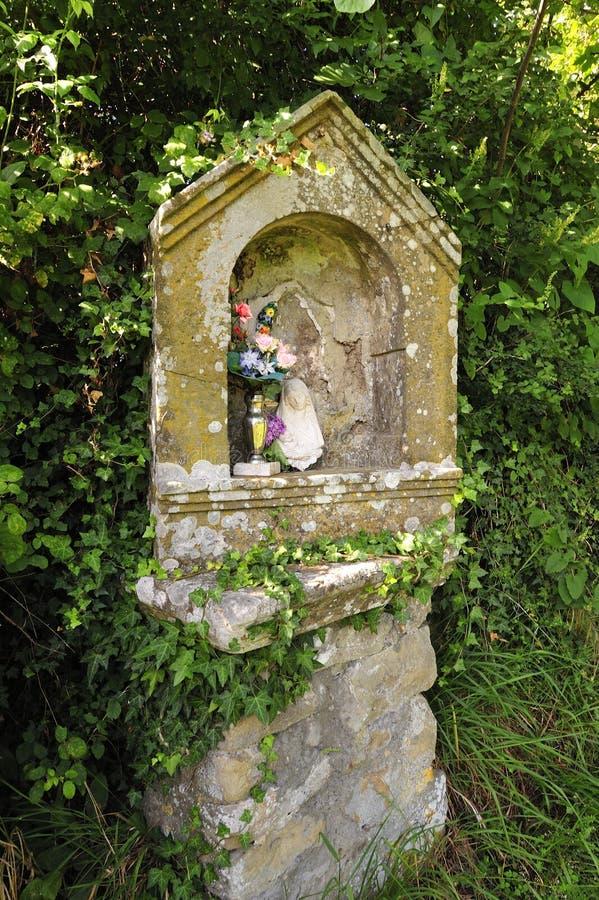 Standbeeld van Maagdelijke Mary royalty-vrije stock afbeelding