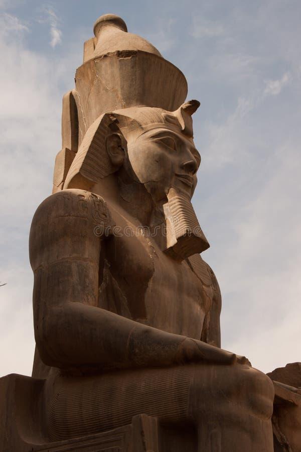 Standbeeld van Ramses II royalty-vrije stock fotografie