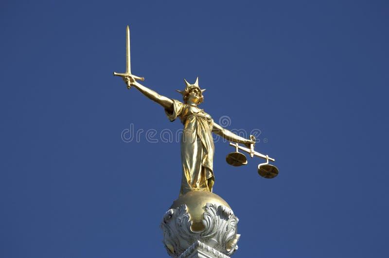 Standbeeld van rechtvaardigheid stock fotografie