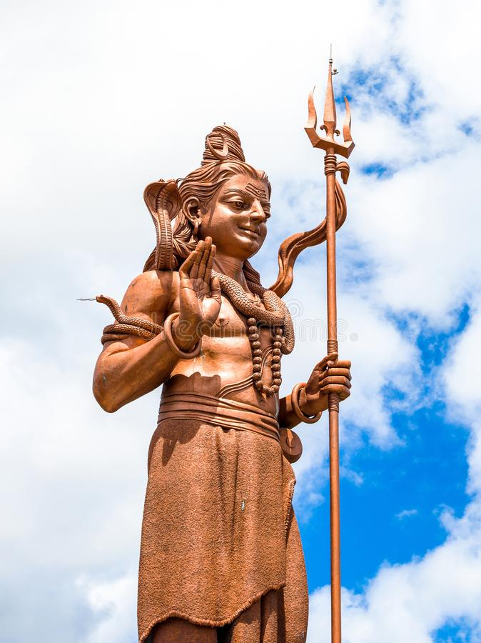Standbeeld van shiva royalty-vrije stock afbeelding