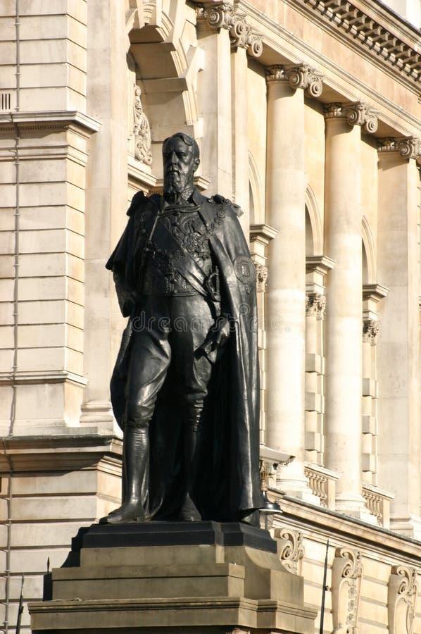 Standbeeld van Spencer Compton, Hertog van Devonshire royalty-vrije stock foto's