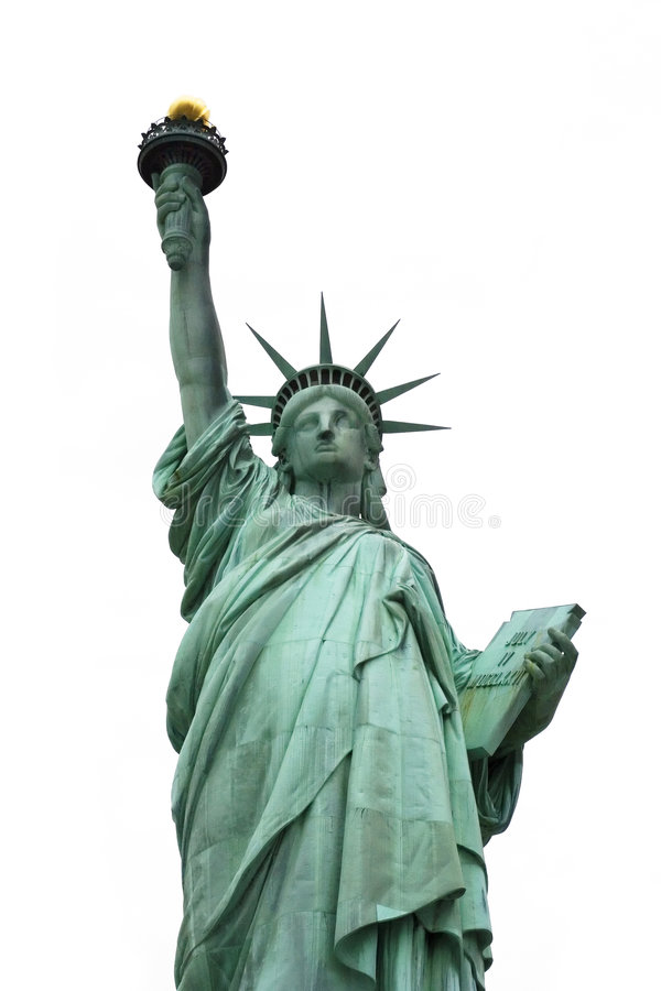 Standbeeld van vrijheid 3 royalty-vrije stock afbeeldingen