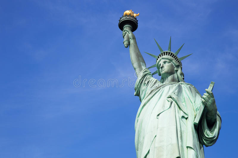 Standbeeld van Vrijheid, de Stad van New York stock afbeeldingen