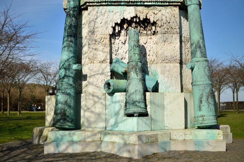 Standbeeld van Vrijheid in Denemarken royalty-vrije stock foto