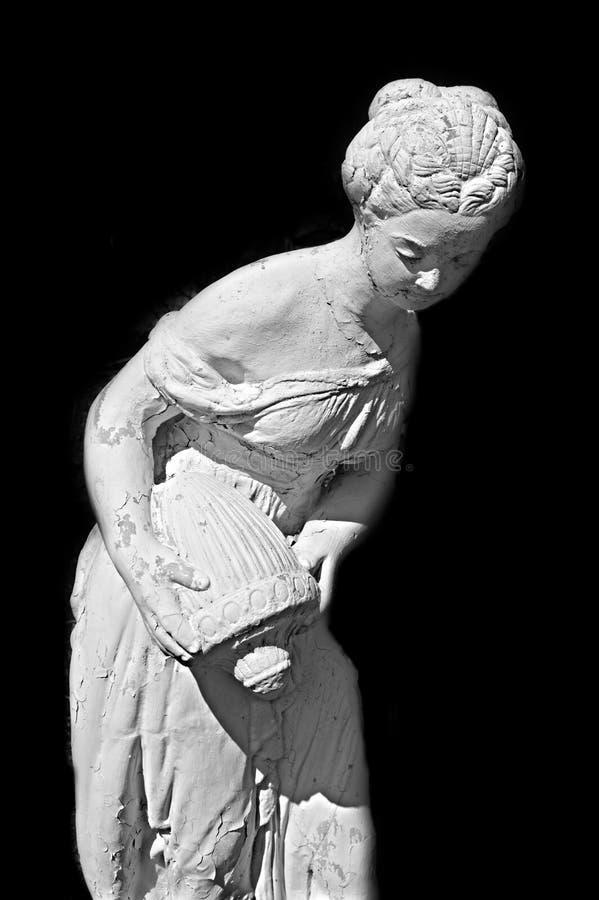 Standbeeld van vrouw stock afbeelding