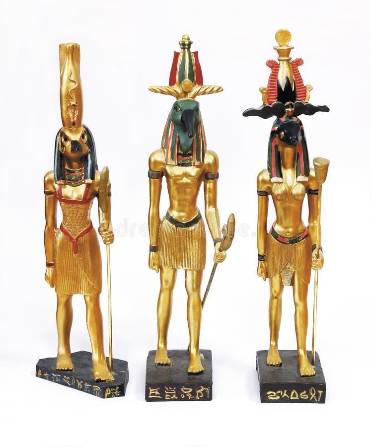 standbeelden van de goden royalty-vrije stock afbeeldingen