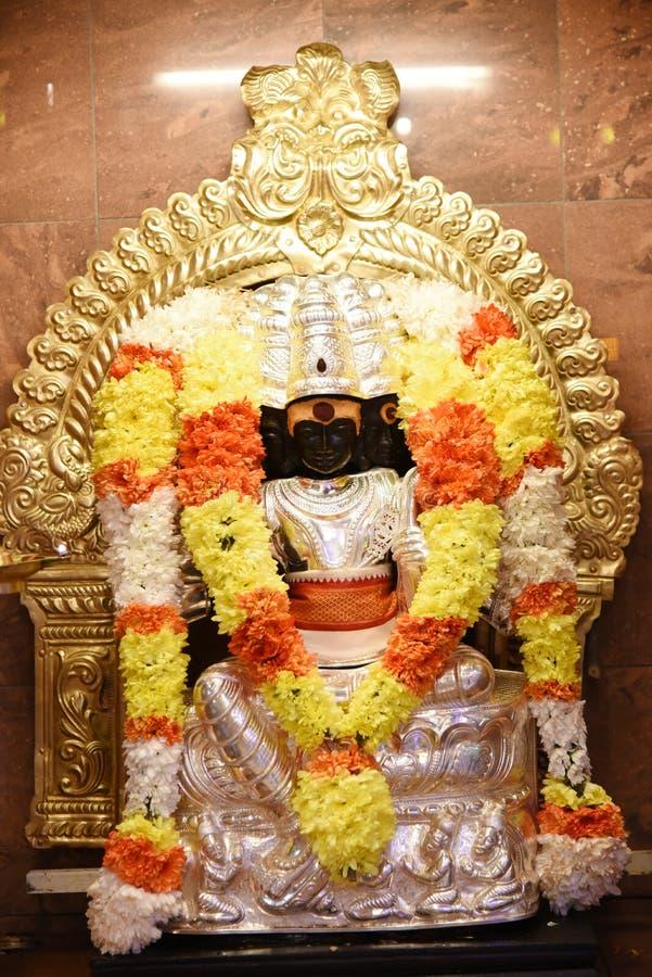 Standbeelden van Hindoese goden royalty-vrije stock foto's