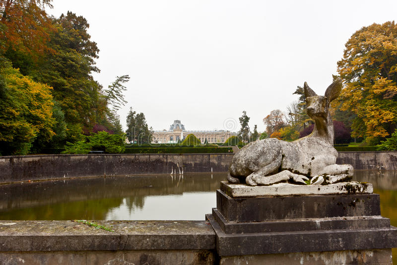 Standbeeldherten, Koninklijk Museum voor Centraal-Afrika, Tervuren, België stock afbeeldingen