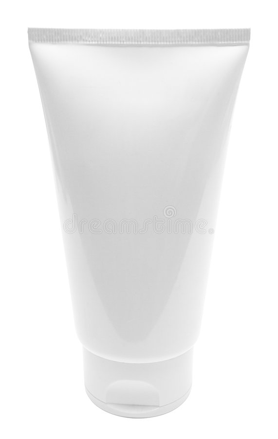 Download Standing Blank White Tube W/ Path Stock Image - Image: 512451
