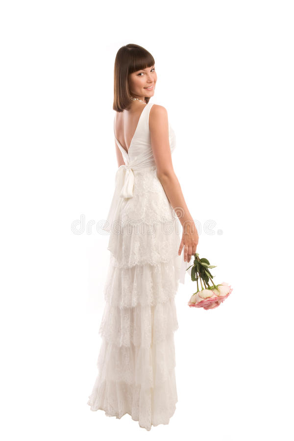 Download Standing bride stock image. Image of indoors, engagement - 27898423