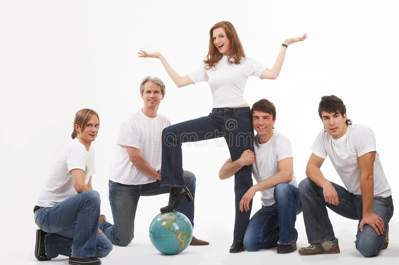 Download Standing on earth stock photo. Image of journey, feminism - 2482542