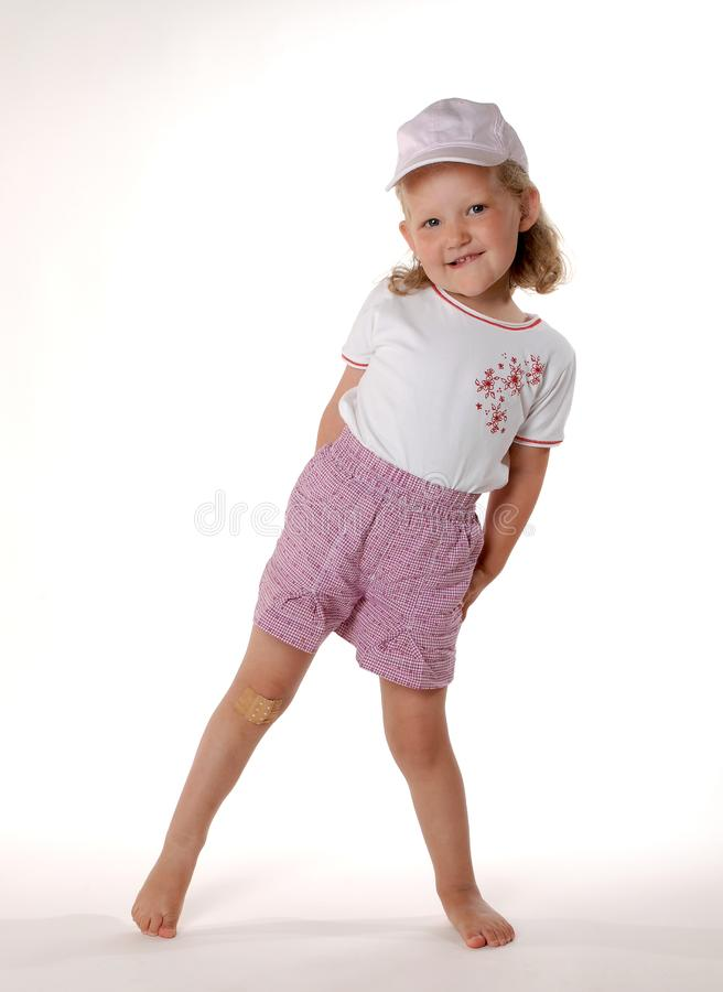 Download Standing girl stock image. Image of high, faschion, blond - 1057319