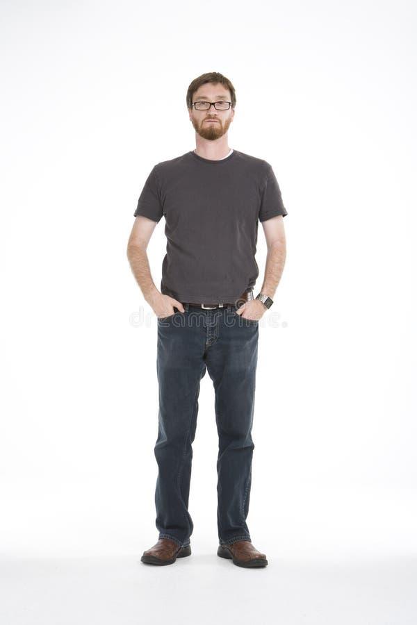 Free Standing In White Studio 04 Stock Photo - 3556620
