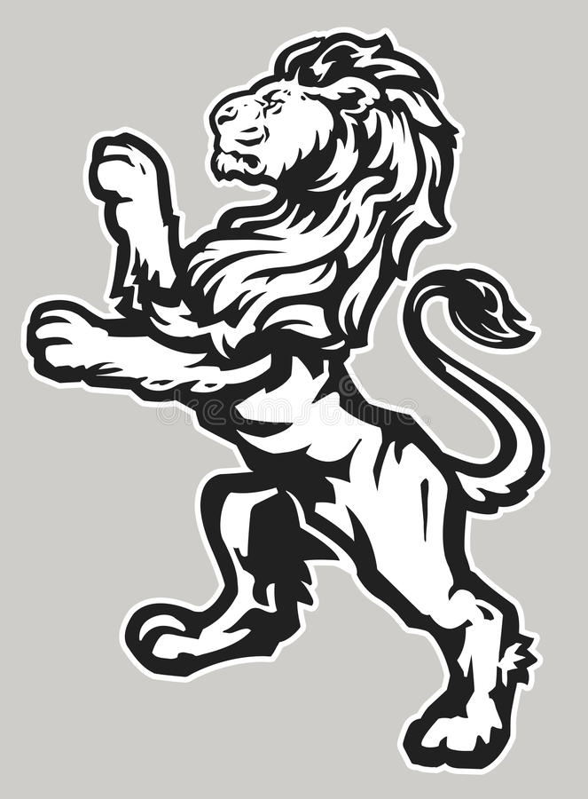 Free Standing Proud Lion Stock Photography - 29859772