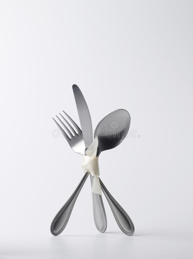 Download Standing silverware stock image. Image of equipment, shiny - 9376795