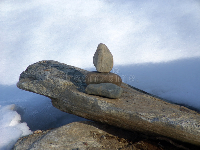 Download Standing Stones stock photo. Image of leaning, balance, snow - 94684