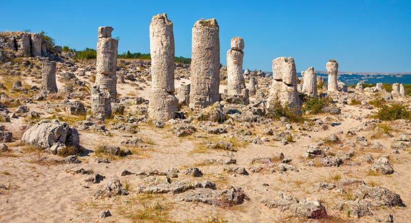 Standing Stones Panorama stock photos