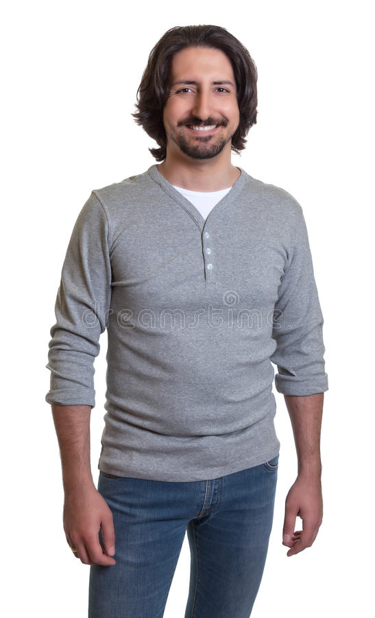 Standing turkish guy royalty free stock images