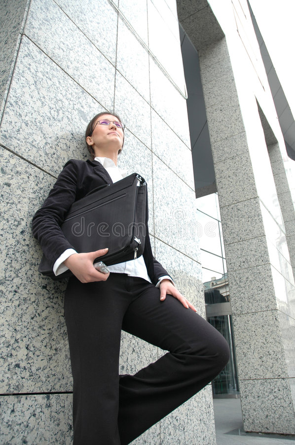 Download Standing by a wall stock photo. Image of office, development - 111638