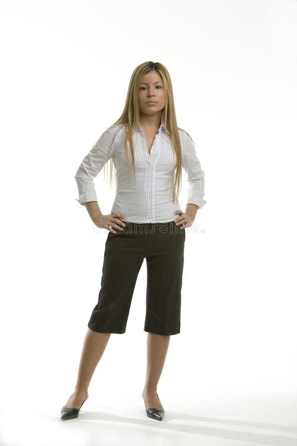 standing woman στοκ εικόνα