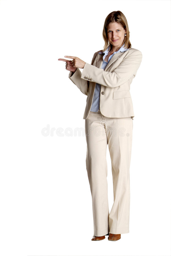 Download Standing woman shows stock image. Image of copyspace, chef - 4093621