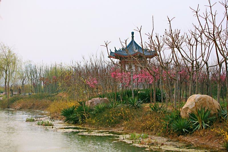 Standort Luoyangs Sui und Tangs botanischer Garten stockfoto