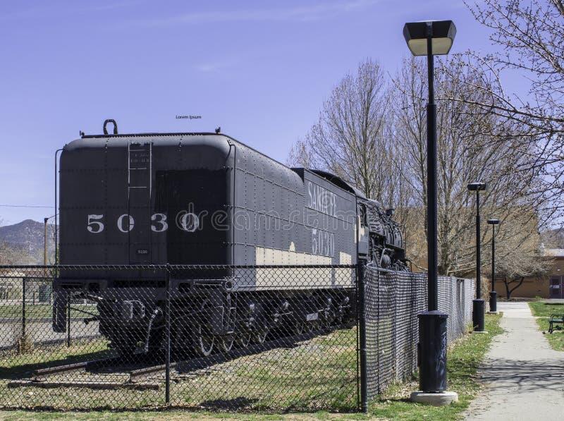 Standort: Nationales Eisenbahn-Museum, Green Bay, Wisconsin lizenzfreie stockbilder