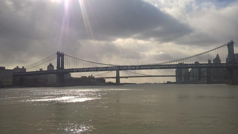 Standpunt van New York De Verenigde Staten zijn een groot land van vrijheid en kansen stock afbeeldingen