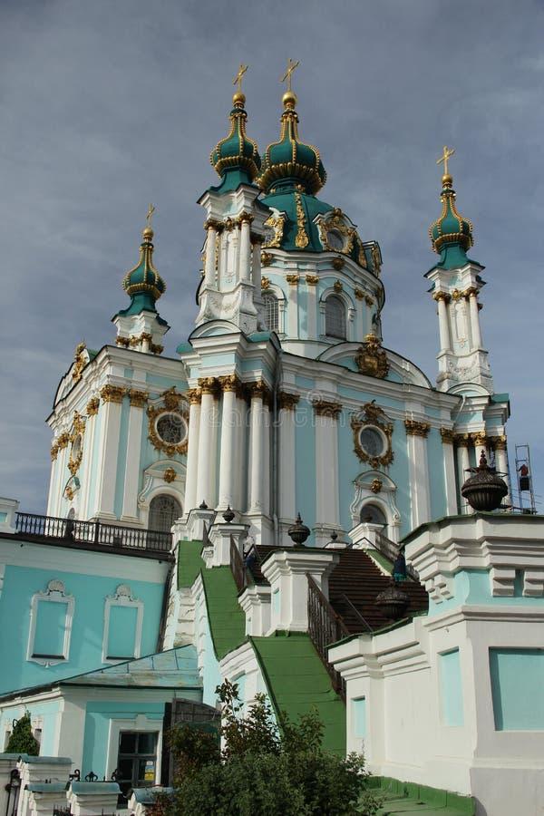 Download StAndrewÂs Domkyrka I Kiev, Ukraina Arkivfoto - Bild av religion, ukraine: 78731098