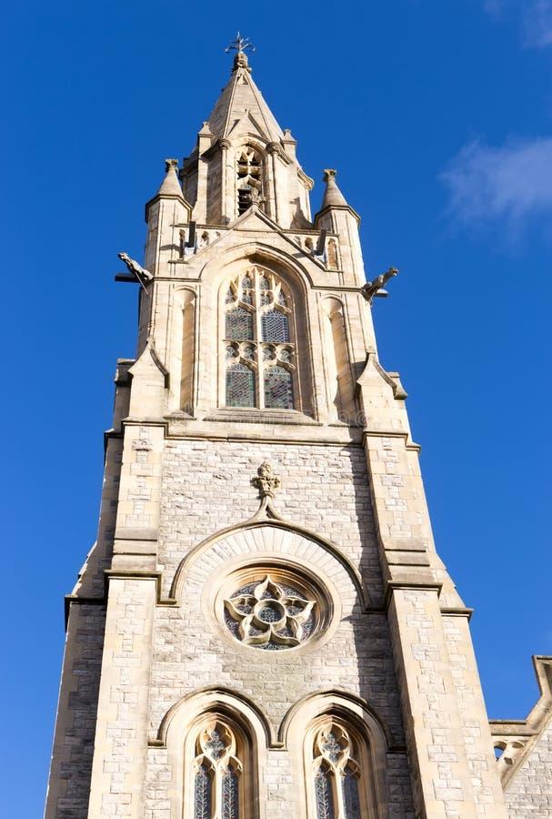 StAndrew的教会在伯恩茅斯,英国 免版税库存图片
