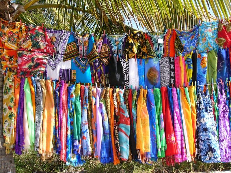 standshop пляжа стоковое изображение rf