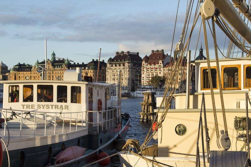 Standvägen w Sztokholm fotografia stock