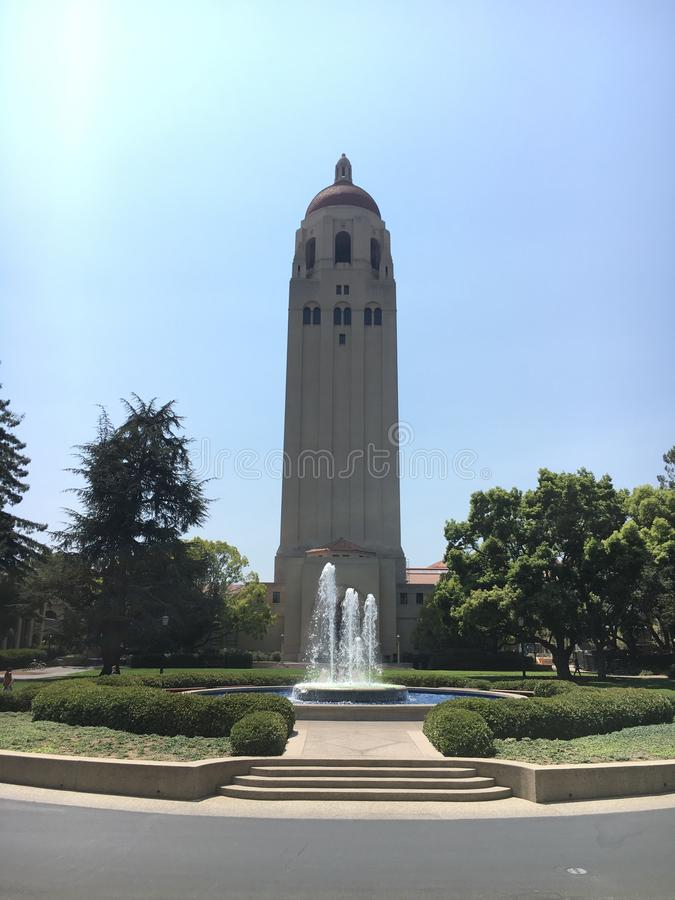 Stanford Bell Tower royalty free stock photography
