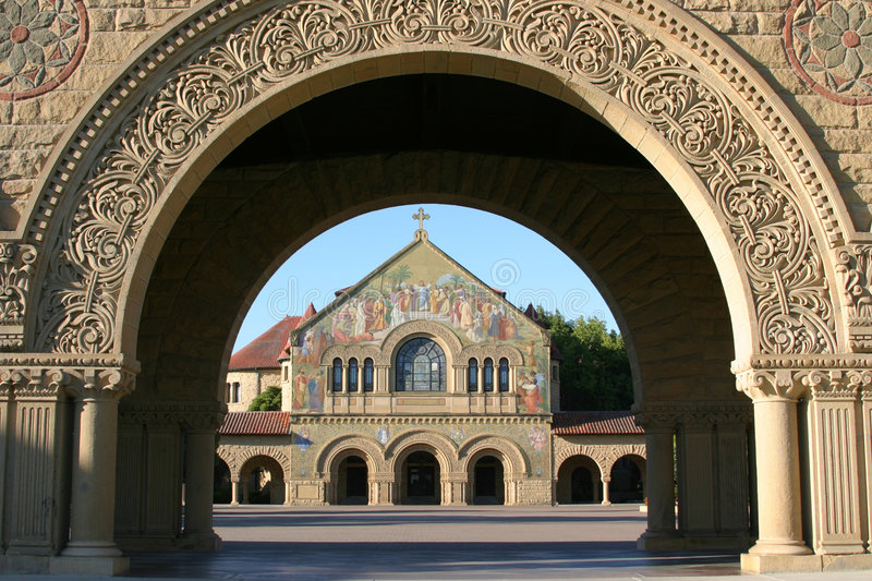 Stanford Campus royalty free stock photos